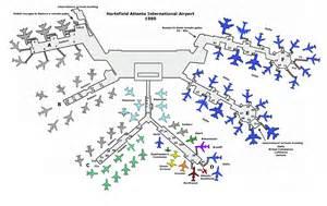 Atlanta Airport Terminal Gate Map