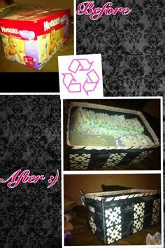 diy diaper holder   crib sheet  diaper box