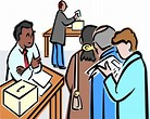 Image result for election workers clip art