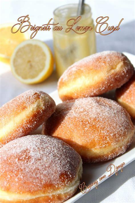 recette beignet au lemon curd recettes faciles recettes rapides de djouza