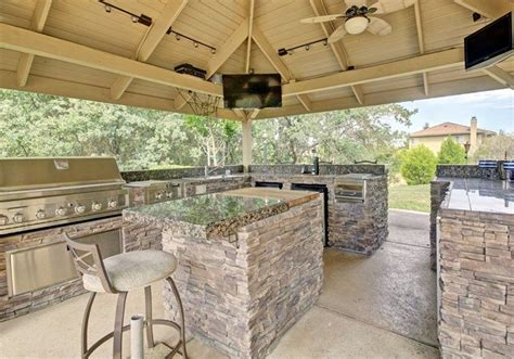 island kitchen chairs 38 beautiful backyard pavilion ideas design pictures