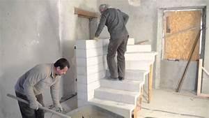 monter un escalier beton double quart tournant en kit With escalier de maison exterieur 1 escalier maison bois moderne deco maison moderne