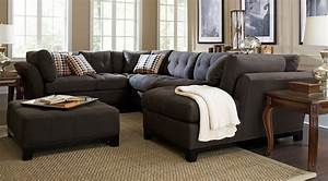 Endearing sectional sofa sets large small couches on with for Sectional sofa in a small room