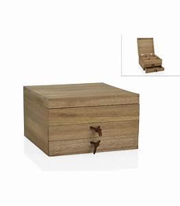 Boite A Bijoux En Bois : bo te de rangement bijoux en bois d 39 acacia ~ Teatrodelosmanantiales.com Idées de Décoration