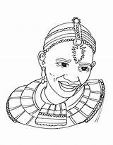African Tribal Coloring Drawing Africa Printable Masks Colouring Sheets Mask Clothing Culture Bestcoloringpages Worksheets Getdrawings Getcolorings Crafts Adult Colors Adults sketch template
