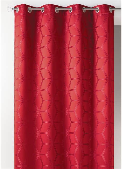 rideau en epais rideau en jacquard design 233 pais bordeaux homemaison vente en ligne rideaux