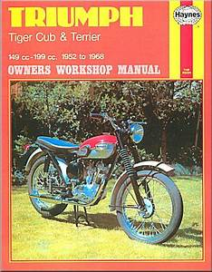 Triumph Tiger Cub  Terrier  Super Cub  Bantam Cub Repair