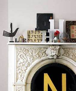 group similar objects together living room decorating With mantle letters