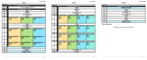 meeting planner template meeting planner template organize your agenda meetings