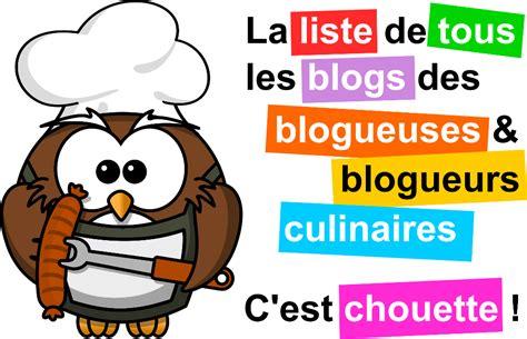 liste de recette de cuisine liste et classement des blogs cuisine de janvier 2018