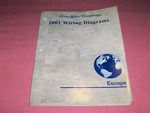 2001 Escape Ford Factory Wiring Diagram Manual