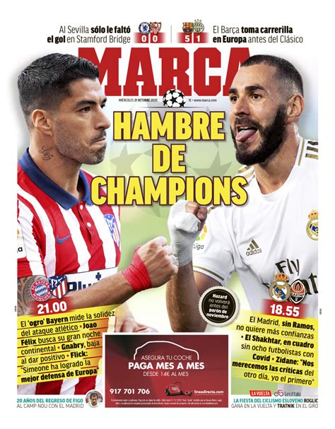 Today's Spanish Papers: Barcelona win big in Champions ...