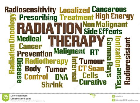 Radiation Therapy Stock Illustration