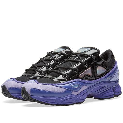 adidas  raf simons ozweego iii purple black