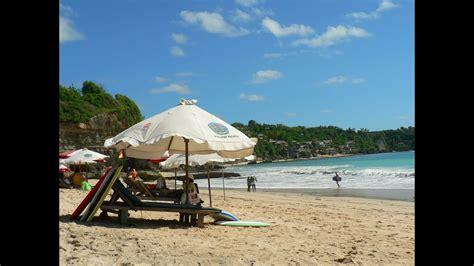 pantai dreamland pulau bali indonesia youtube