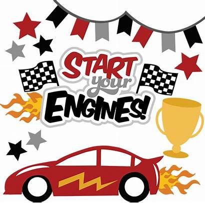 Start Engines Svg Scrapbooking Race Racing Derby