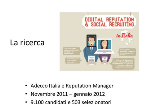 adecco si鑒e social il social recruiting in italia