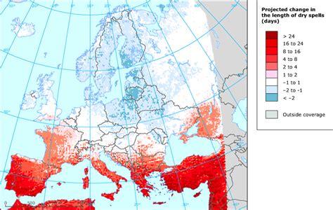 precipitation extremes european environment agency