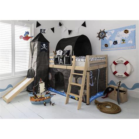 cabin bed   midsleeper kids pirate hideaway