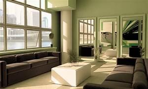 Green living room green furniture for Green living room
