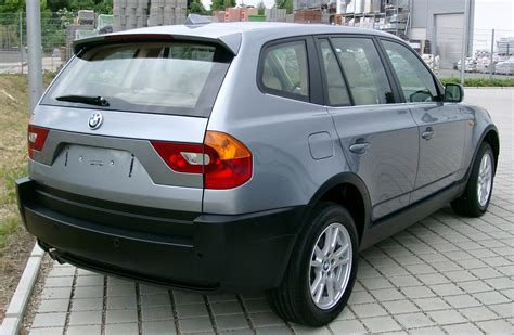bmw x3 e83 bmw x3 e83 3 0d 204 hp automatic