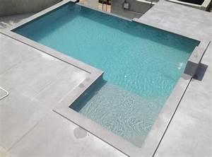Prix Beton Cire : 20 photos de piscine en b ton ~ Premium-room.com Idées de Décoration