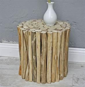 Beistelltisch Rund Weiß Holz : sitzhocker hocker braun landhaus tisch beistelltisch holzhocker urban massivholz ebay ~ Bigdaddyawards.com Haus und Dekorationen