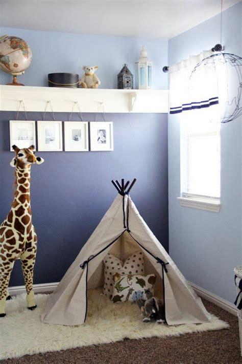 Kinderzimmer Junge Wandgestaltung Blau by 40 Farbideen Kinderzimmer Der Zauber Der Farben