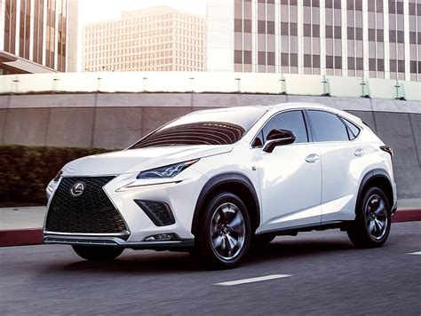 lexus nx luxury crossover features lexuscom