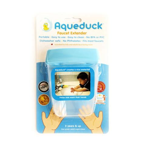 Aqueduck Faucet Extender 2 Pack By Peachy by Aqueduck Faucet Extender