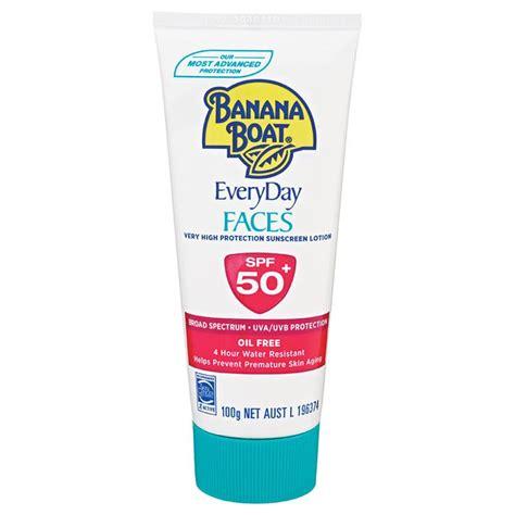 Banana Boat Face buy banana boat spf 50 faces 100g online at chemist