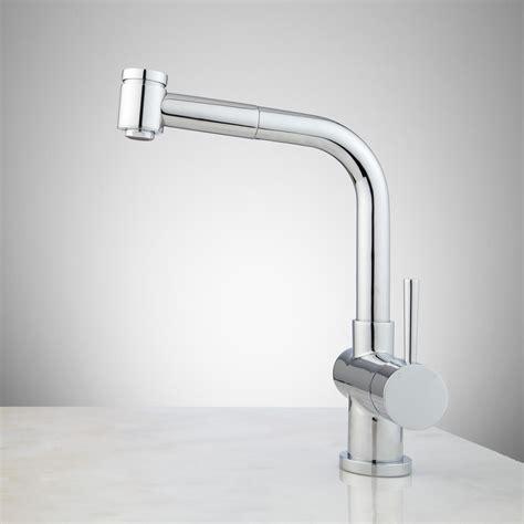 Samsa Single Hole Pull Out Kitchen Faucet   Kitchen