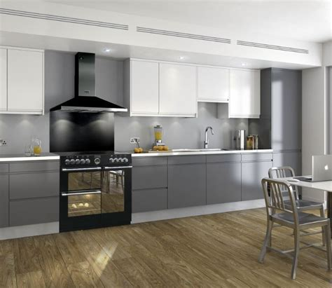kitchen designs with range cookers the black sterling cooker is and modern like your 8033