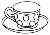 Tea Coloring Tea8 sketch template