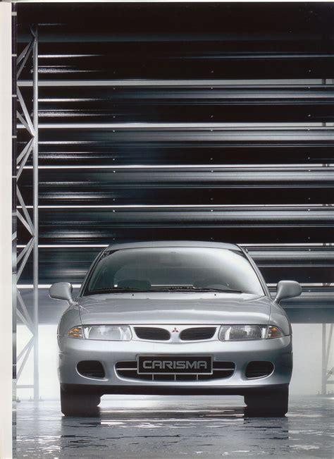 Mitsubishi Carisma brochure