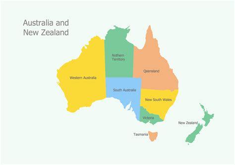 geo map australia  south wales