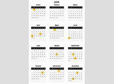 El consejo laboral aprueba el calendario laboral del 2019