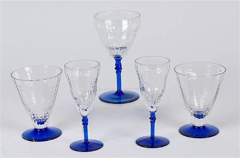Steuben Barware by Steuben Glass Values Steuben Glass Stemware Cowan S