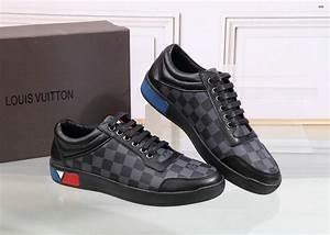Sneakers Louis Vuitton Homme : chaussures louis vuitton noir ~ Nature-et-papiers.com Idées de Décoration
