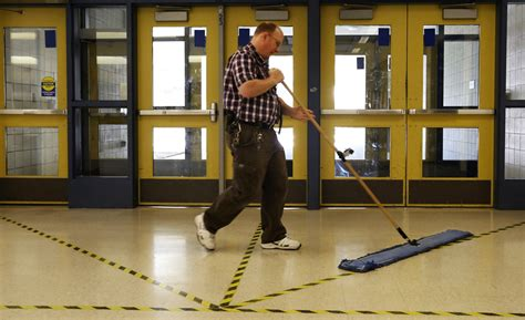 national janitor   year honor  await local school