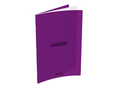 magasin fourniture bureau conquerant classique cahier 24 x 32 cm 96 pages