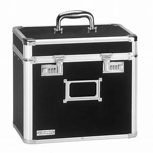 Vaultz locking personal file tote letter size black for Letter file tote