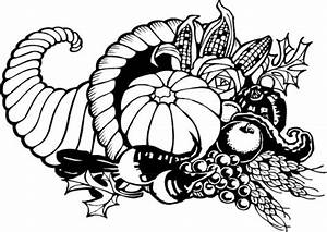 Thanksgiving Cornucopia Large | Free Images at Clker.com ...
