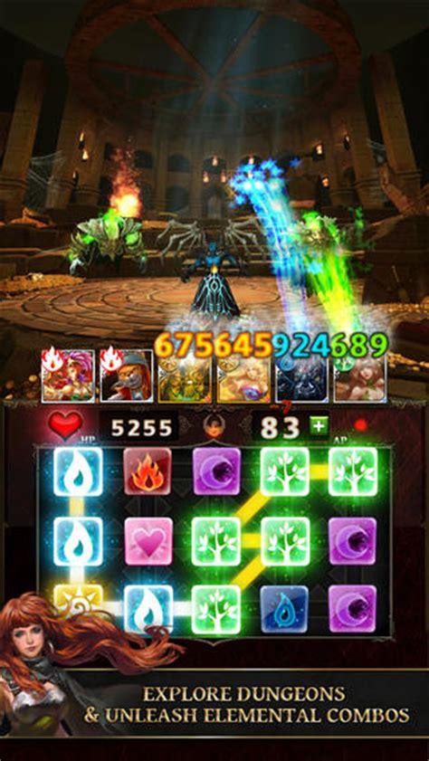 gameloft unleashes dungeon gems   app store