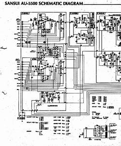 Sansui Au5500 Sch Service Manual Download  Schematics