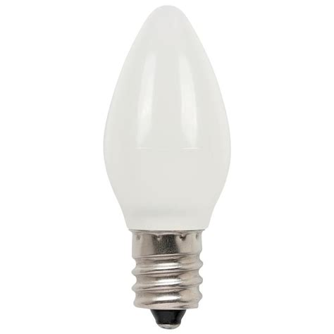 westinghouse 7w equivalent frosted c7 led light bulb 2