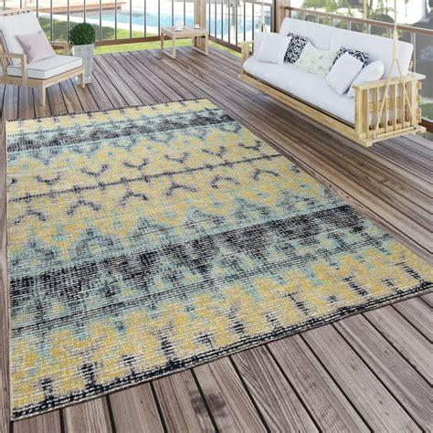 Outdoor Teppich Gelb by In Outdoor Teppich Boho Gelb T 252 Rkis Teppich De