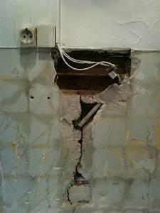 Reboucher Trou Mur Placo : gros trou dans brique creuse ~ Melissatoandfro.com Idées de Décoration