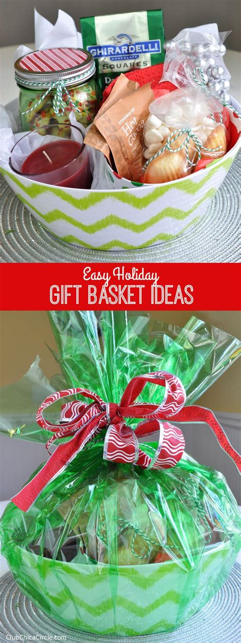 christmas gift for 70 easy gift basket ideas giveaway club chica circle where crafty is contagious doesn