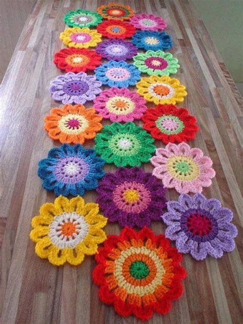 Crochet Flowers Free Patterns The Best Collection